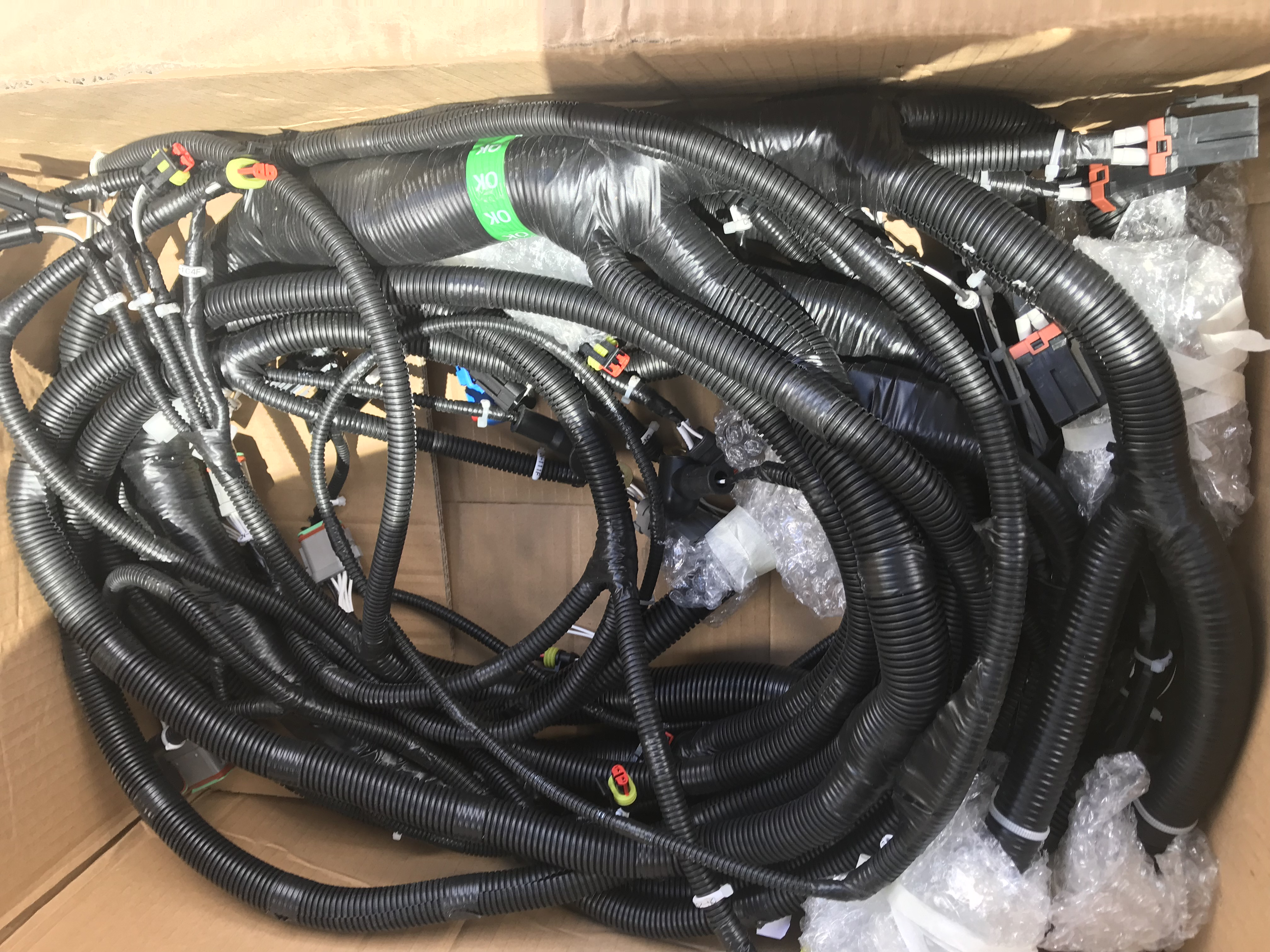 Sany Excavator, wiring harness