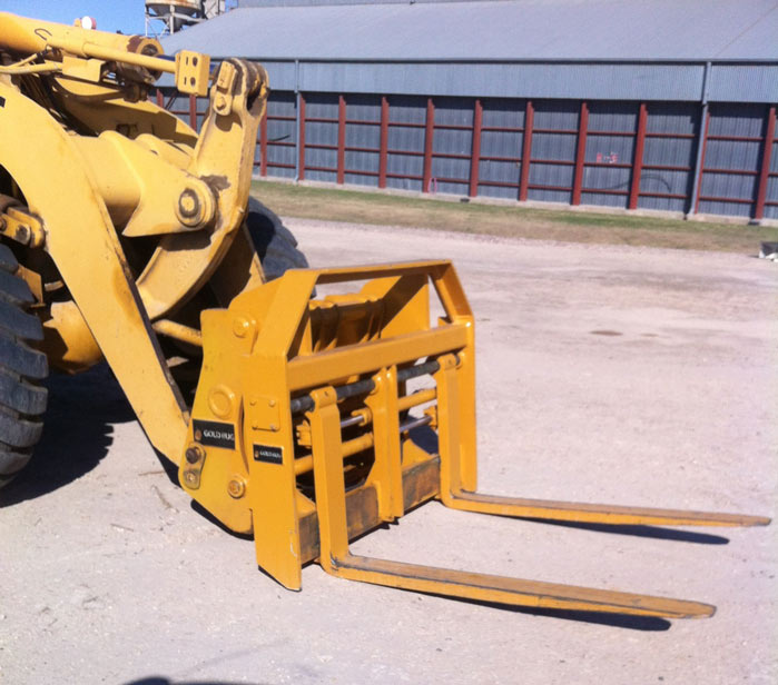 loader excavator earthmoving attachments